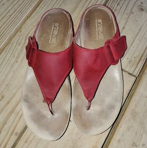 Teva sandals.   Red size 9